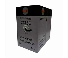 CABLE GLC UTP CAT 5 EXTERIOR 305MTS NEGRO