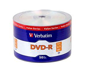 DVD VERBATIM R-4.7 GB VALUE SERIES