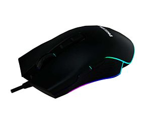 MOUSE PHILIPS GAMER G201BL USB RGB