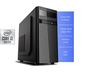 PC GFAST H-300 I3 10100 8GB SSD 240GB