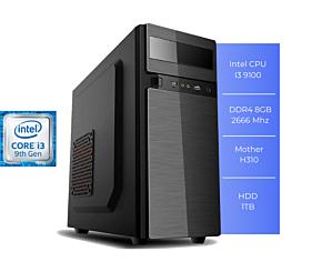 PC TERAMAR I3 9100 8GB 1TB