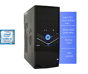 PC PERFORMANCE PF73186 I3 9100 8GB SSD 240GB