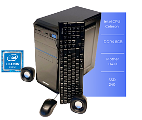 PC SOLARMAX SLIM C8240 CEL 8GB SSD 240GB