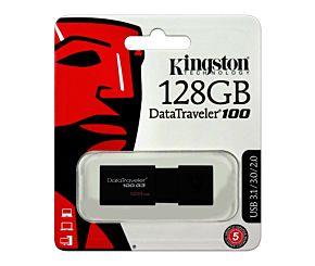 PEN DRIVE 128GB KINGSTON DT100 G3 3.0