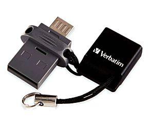 PEN DRIVE 32 GB VERBATIM OTG MICRO USB + 2.0
