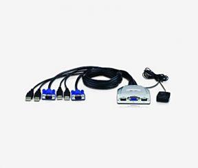 KVM NISUTA 2 PUERTOS USB