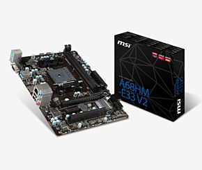 MOTHER MSI A68HM-E33 V2 M-ATX FM2