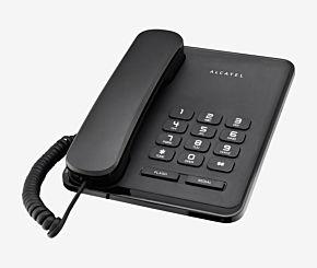 TELEFONO ALCATEL T-20 MESA NEGRO