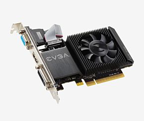 PLACA DE VIDEO EVGA GT710 2GB  D DR3  02G-P3-2713-KR