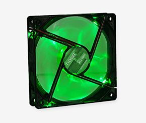 COOLER NOGA GAMING 12 X 12  LED VERDE