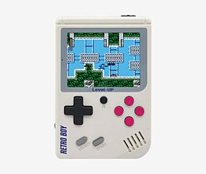 CONSOLA PORTATIL RETRO BOY 168 JUEGOS BLANCO