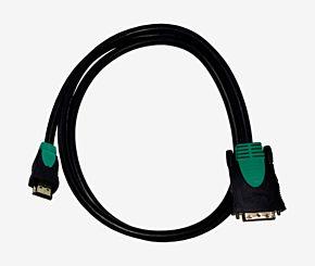 CABLE HDMI A DVI-D NISUTA NSCADVH5 5MTS
