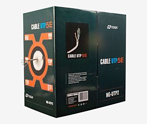 CABLE UTP CAT 5 INT X305MTS. NOGANET
