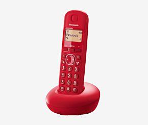 TELEFONO PANASONIC KXTGB -210 1 BASE ROJO