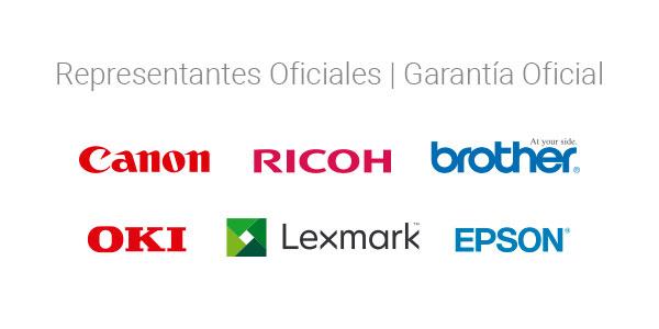 Representante Oficial de marcas líderes